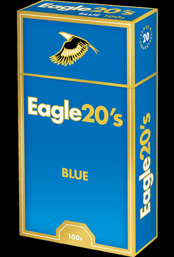 eagle 20's 100s blue