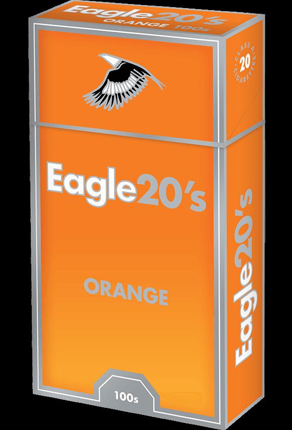 eagle 20's 100s orange
