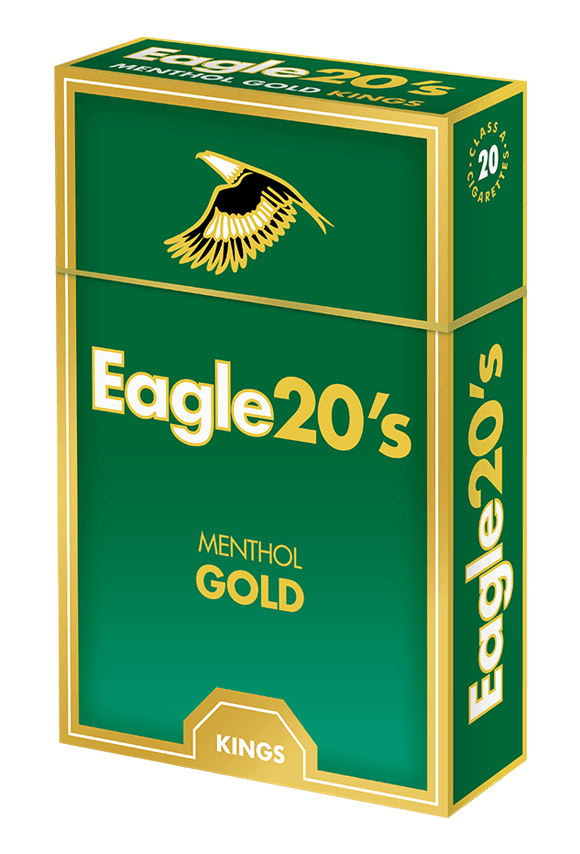 eagle 20's kings menthol gold