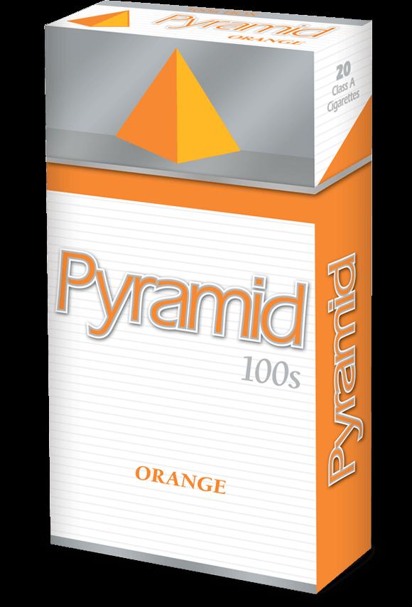 pyramid 100s orange