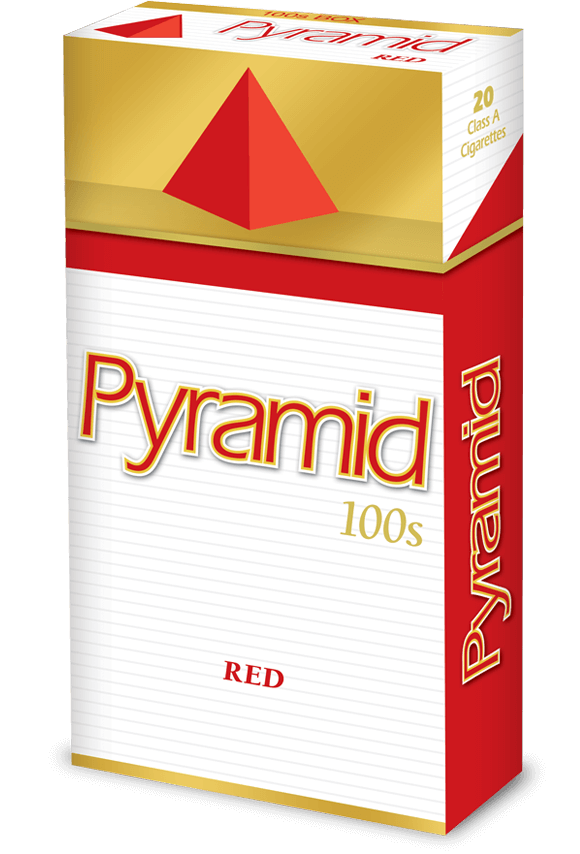 pyramid 100s red