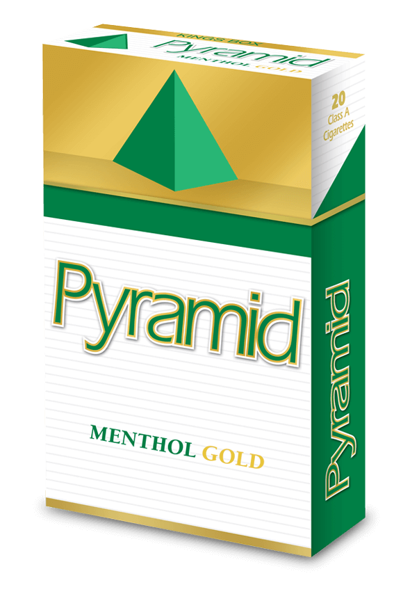 pyramid kings menthol gold