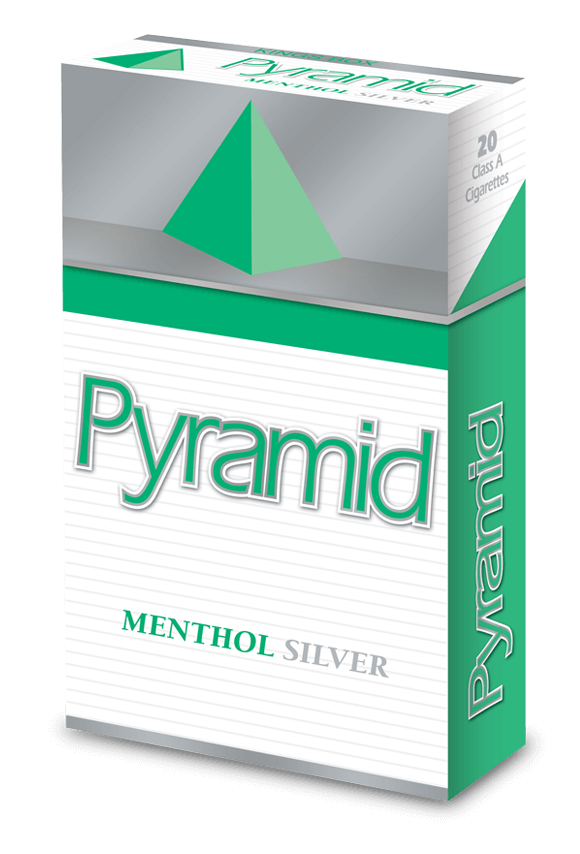 pyramid kings menthol silver