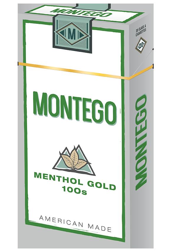montego menthol gold 100s